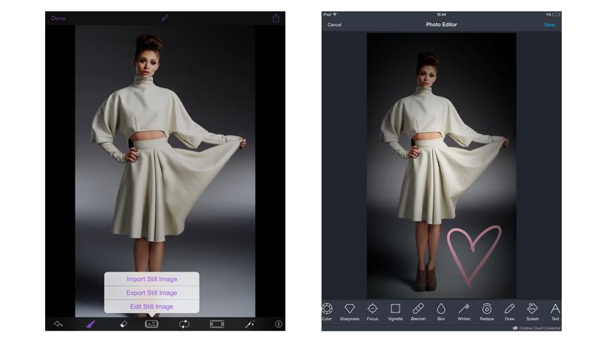 Flixel Cinemagraph Pro for iOS, Adobe SDK