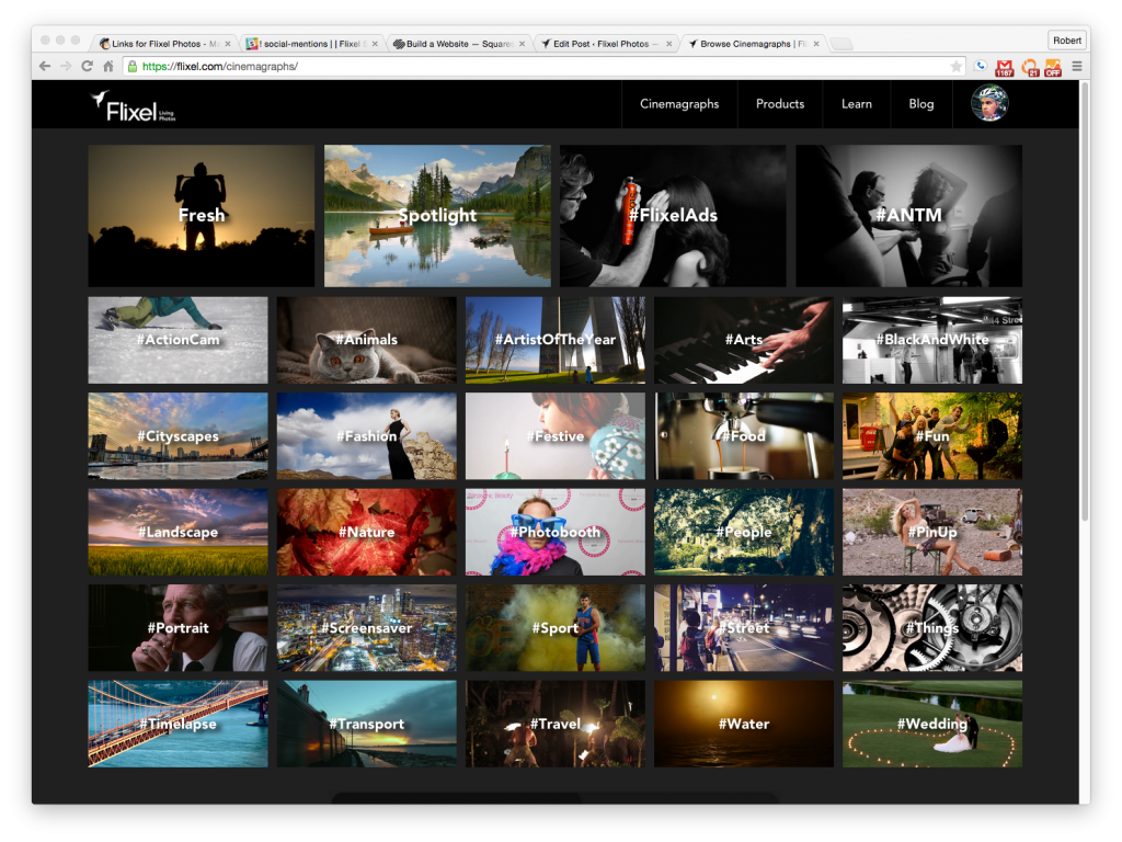 Flixel Cinemagraph Galleries