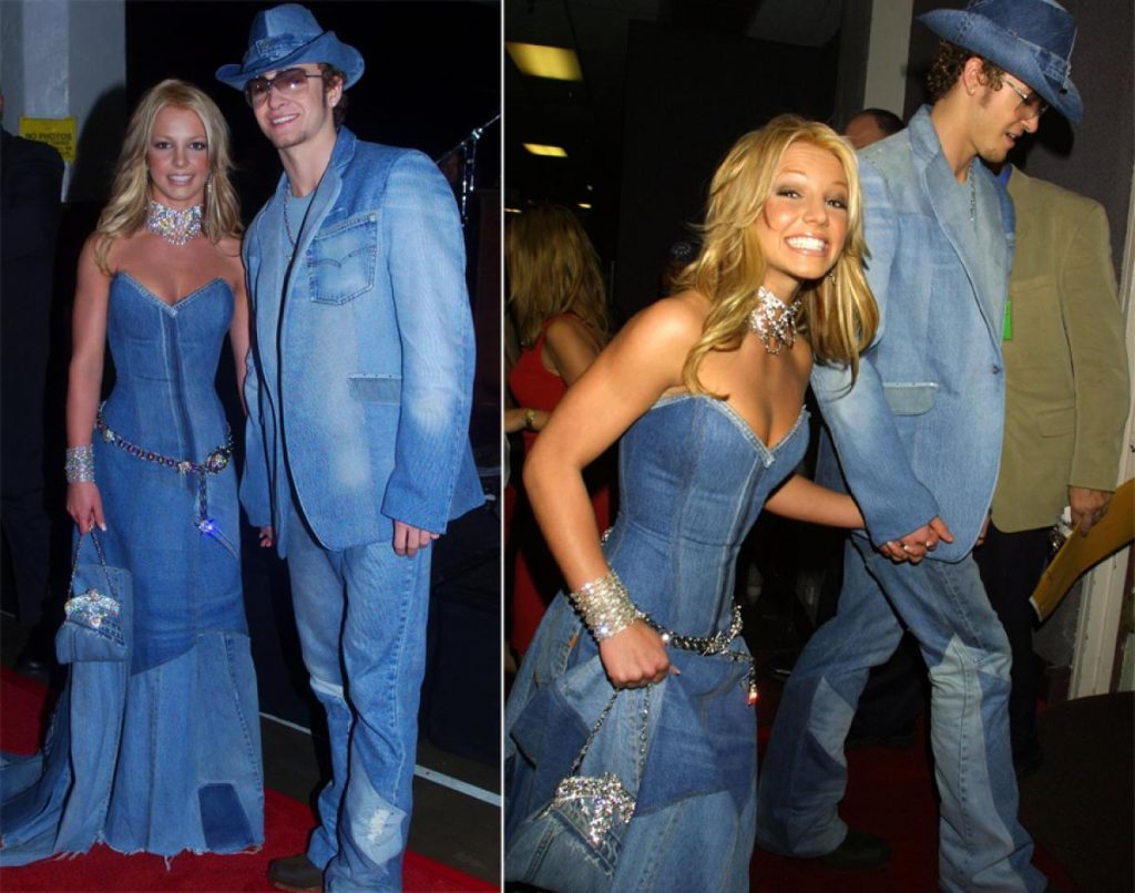 Britney Spears Justin Timberlake 2001 VMAs