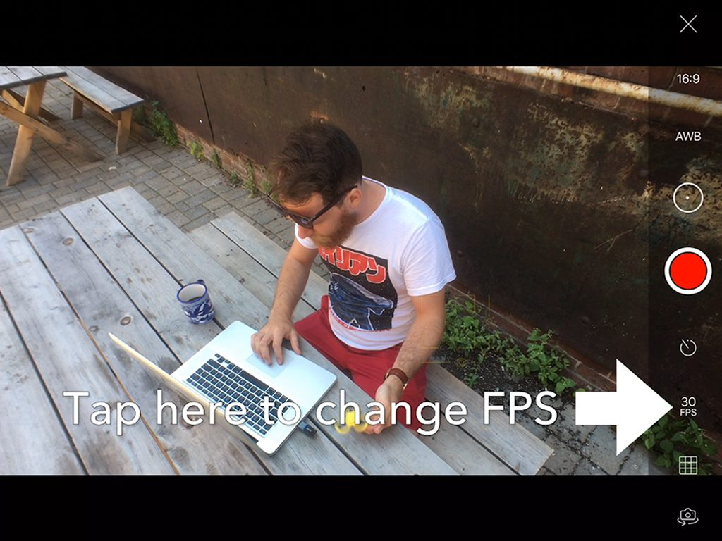 Creating Cinemagraphs on iPhone Change FPS
